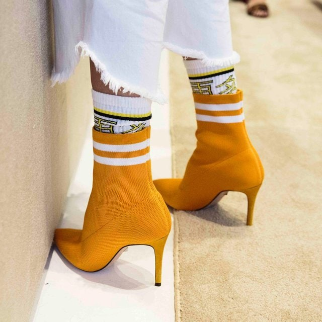 Gisela Stretch Sock Booties