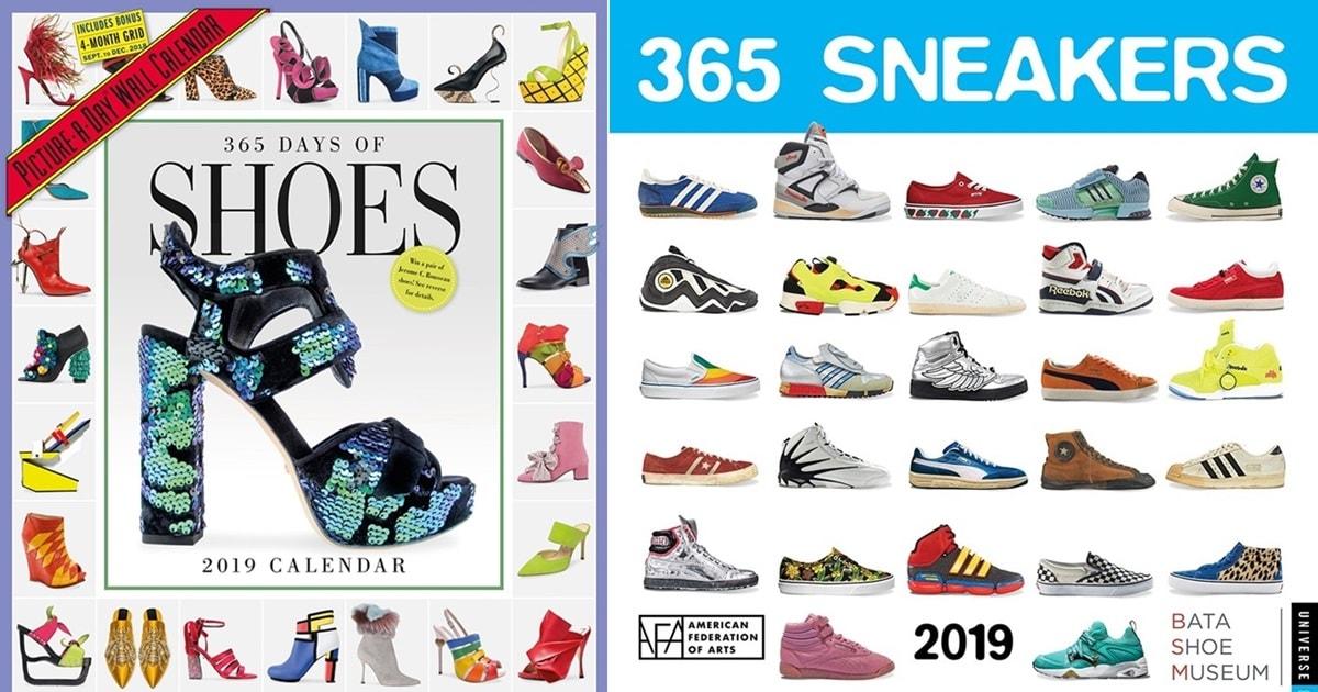 Sneaker Calendar 2019 6 Best Shoe Calendars for 2018 and 2019
