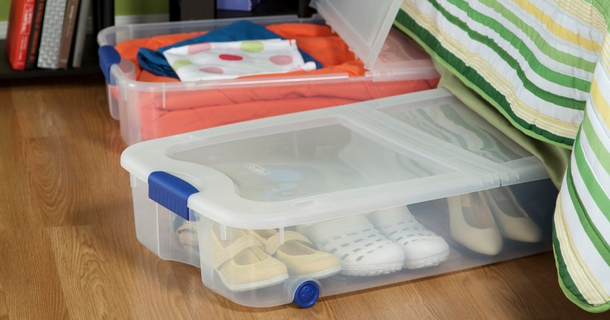 Under The Bed Shoe Storage Ideas Boxes Cases And Organizers