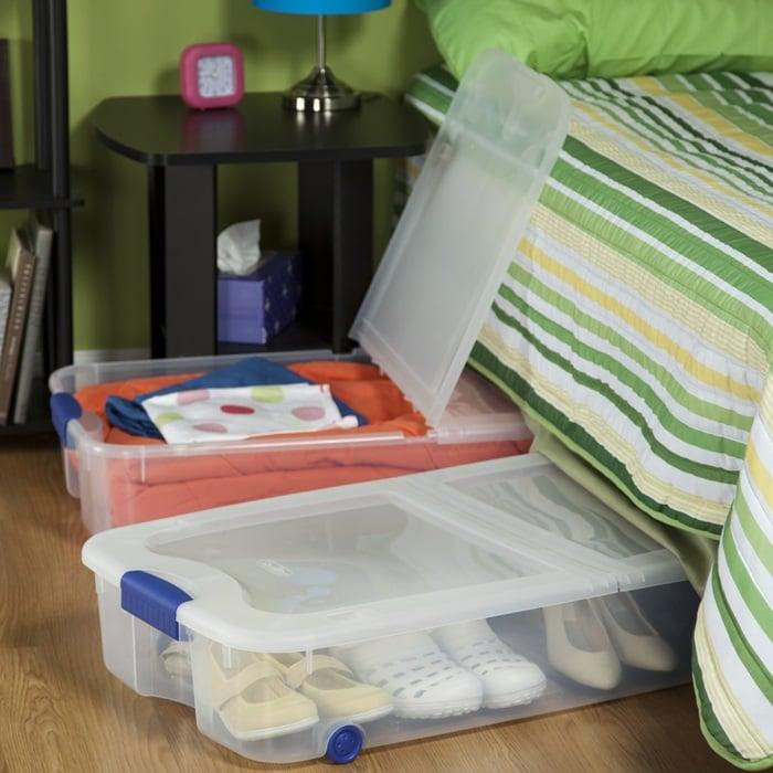Best Under Bed Shoe Storage Ideas