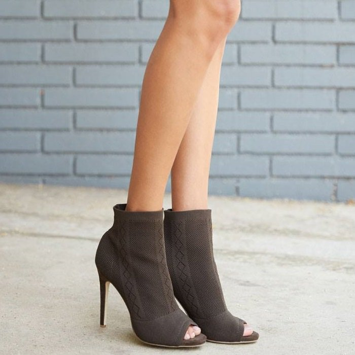 Fitted and fashionable, Anka's sock bootie silhouette is the look of the season