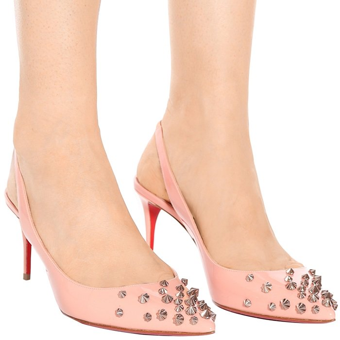 a75975eb9723 Add Instant Drama To Your Look With Spiked Slingback Pumps