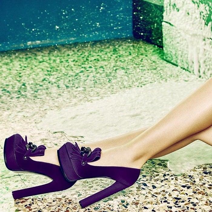Classic Purple Heels