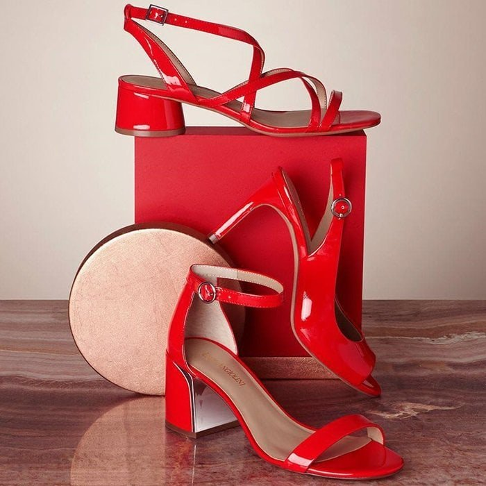 Enzo Angiolini Red Sandals