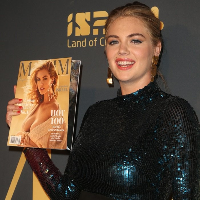 Kate Upton celebrated her Hot 100 cover at the Maxim Hot 100 Experience party held at Hollywood Palladium in Los Angeles on July 21, 2018