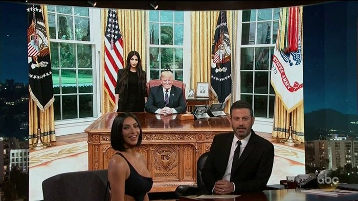 Kim Kardashian West talks about meeting with Donald Trump to release Alice Marie Johnson from prison, visiting the White House, and she reveals whether or not she supports Trump, what Kanye thinks about him and whether or not they fight about it