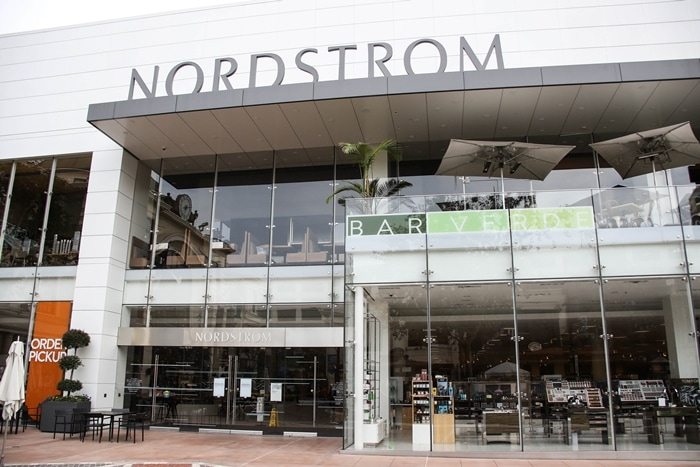 Nordstrom's store at The Grove in Los Angeles