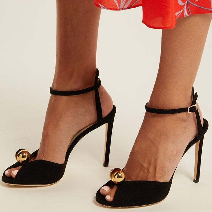 435b9df6eef Unforgettable Sacora Imitation Pearl Sandals by Jimmy Choo