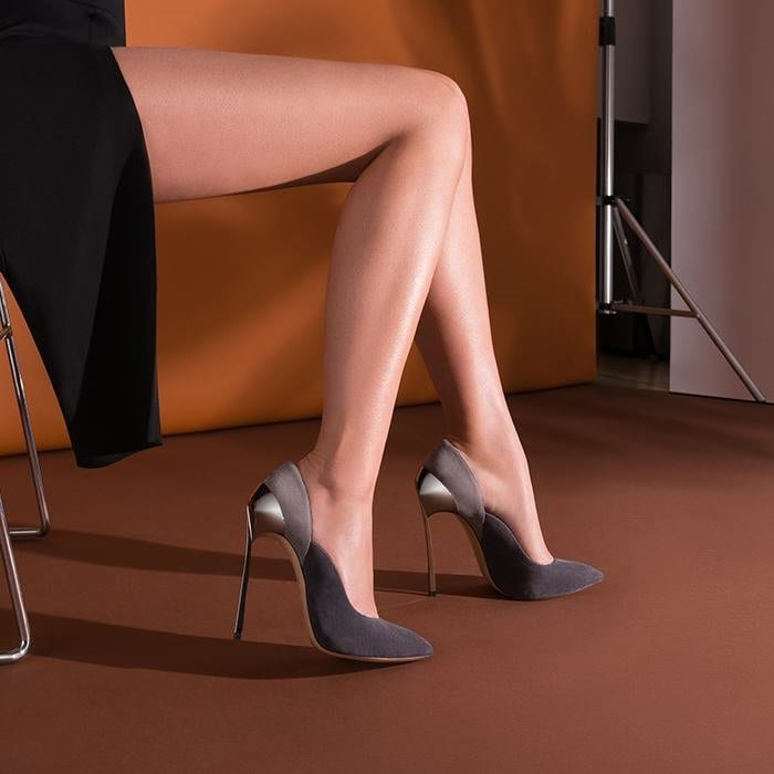 Sensual 'Techno Blade' Pumps