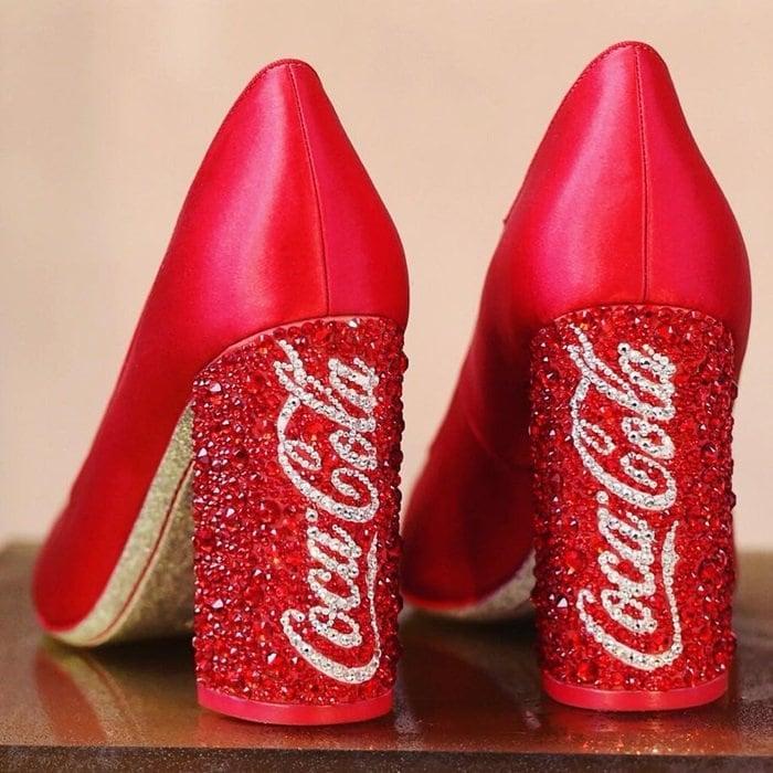 Sophia Webster Coca Cola Shoes