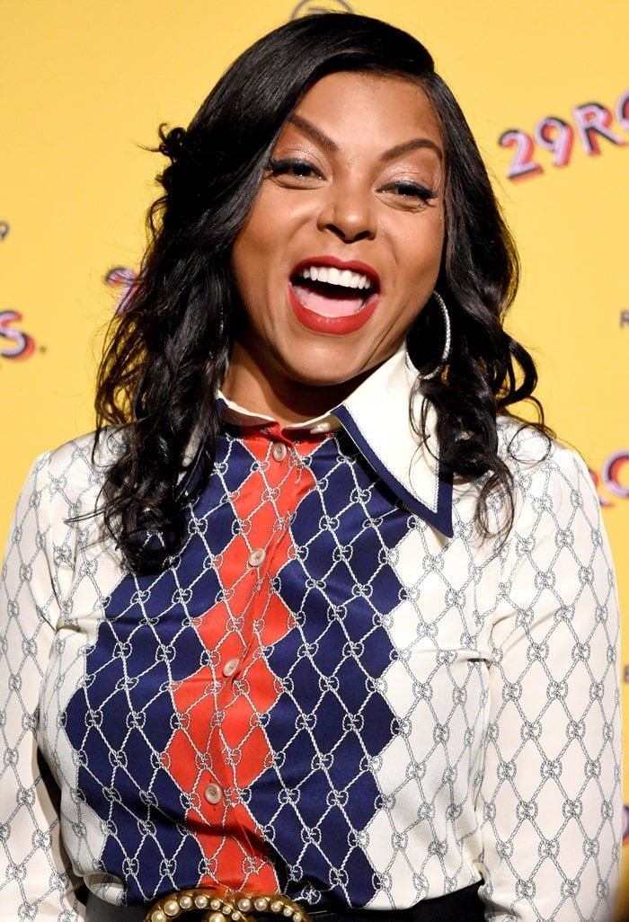Taraji P. Henson attending Refinery29′s opening night of 29Rooms: Turn it into Art in Chicago on July 25, 2018