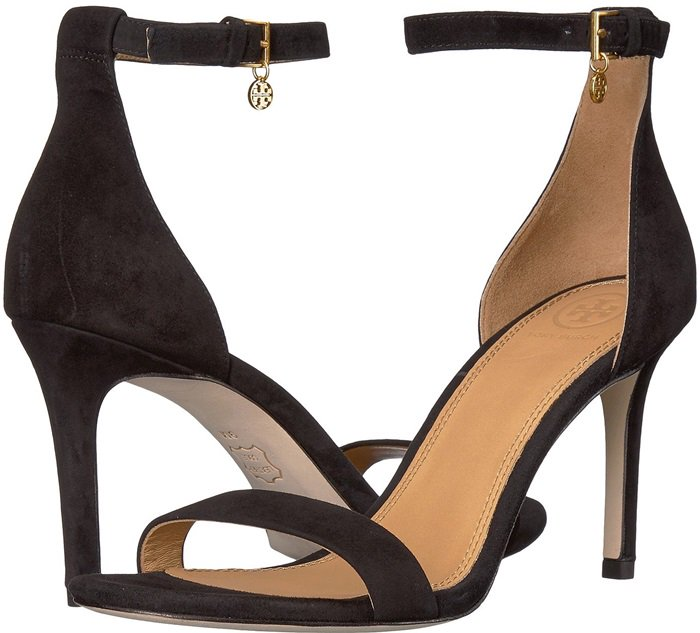 Ellie Color Block Ankle Strap Sandals Worn By Camila