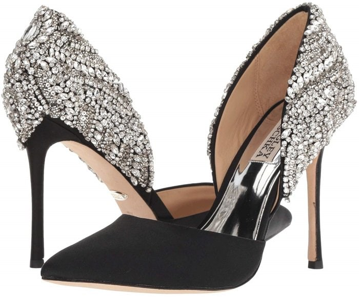 Volare Crystal Embellished d'Orsay Pump BADGLEY MISCHKA
