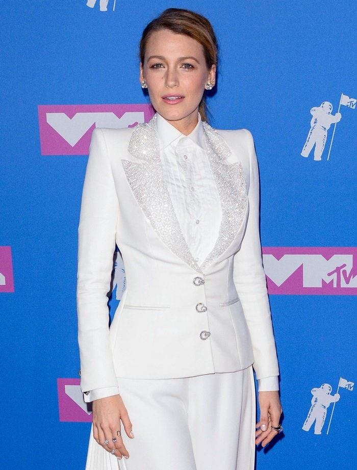 Blake Lively at the 2018 MTV Video Music Awards held at Radio City Music Hall in New York City on August 20, 2018