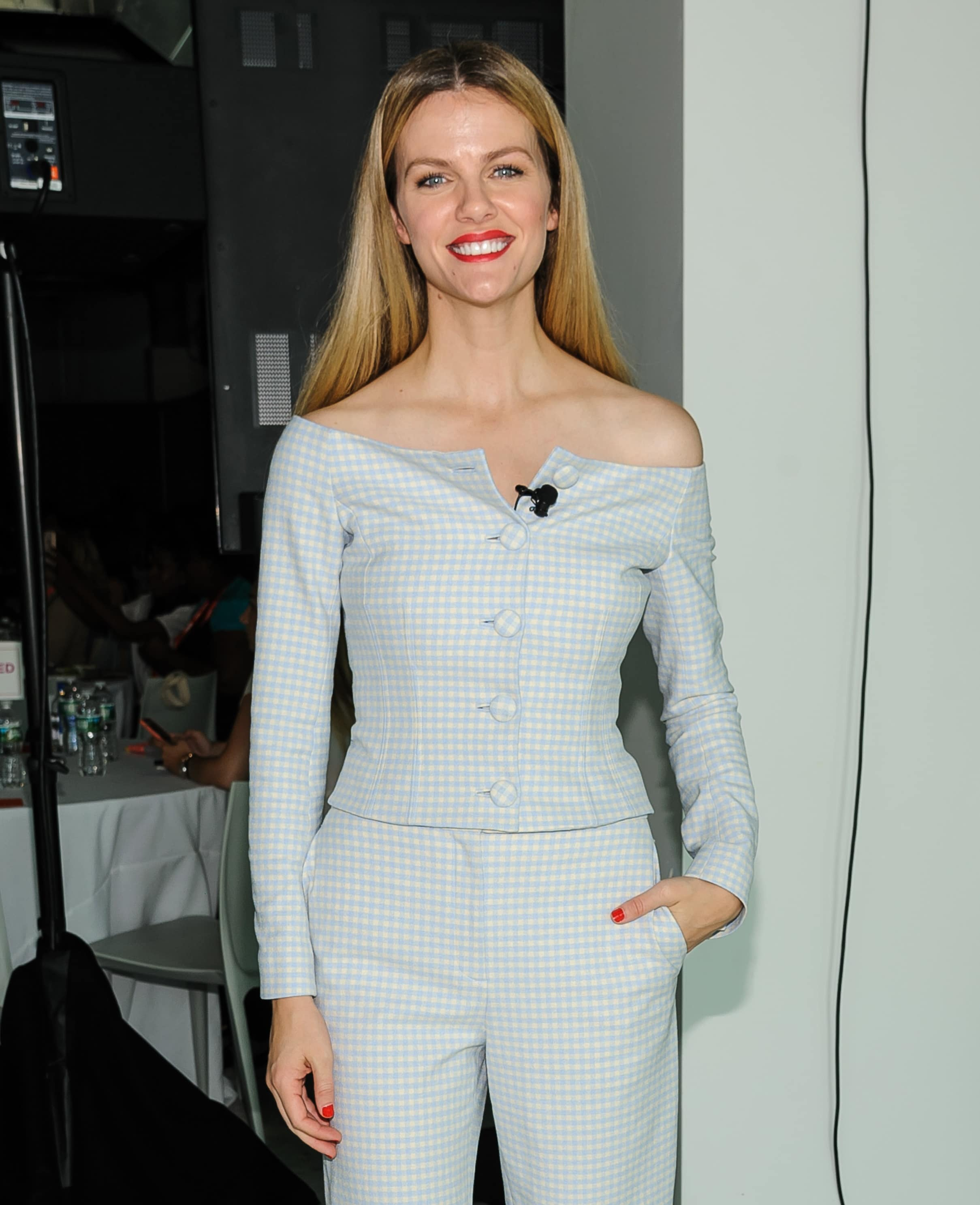 Brooklyn Decker was one of the keynote speakers at the 2018 #BlogHer Creators Summit in New York City on August 8, 2018