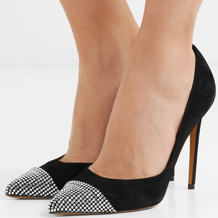 As their name suggests, these pumps are particularly suited to the kind of nights when you might end up on the dancefloor