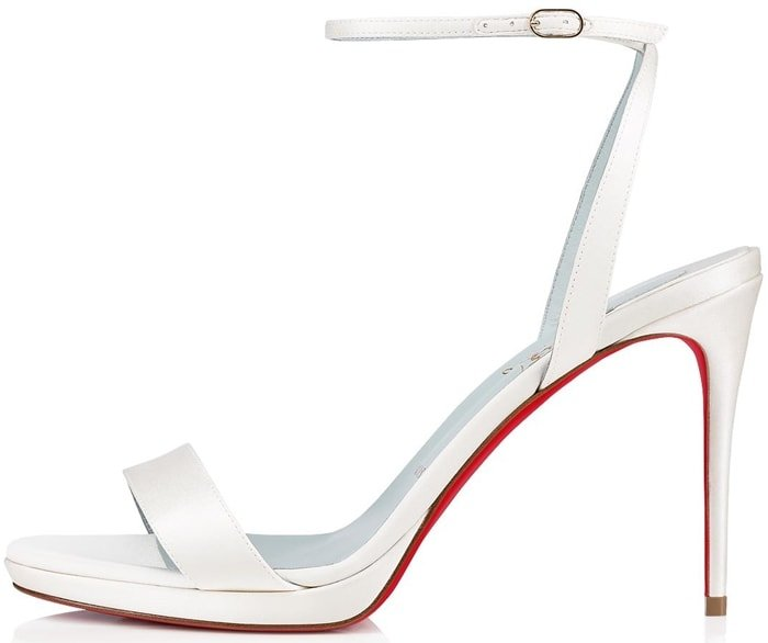 Bring elegance with a little retro flair to your big day with Christian Louboutin's Loubi Queen