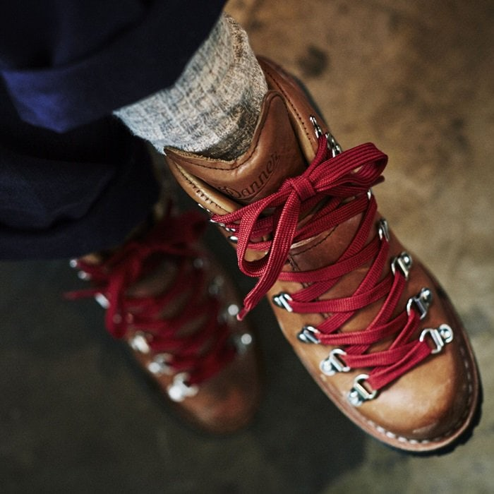 The women's Mountain Light Cascade is a tribute to one of Danner's iconic hiking styles introduced in the early 1970s