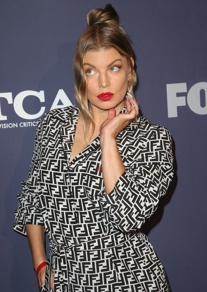 Fergie attends FOX's 2018 Summer TCAs All-Star Party in West Hollywood, California, on August 2, 2018