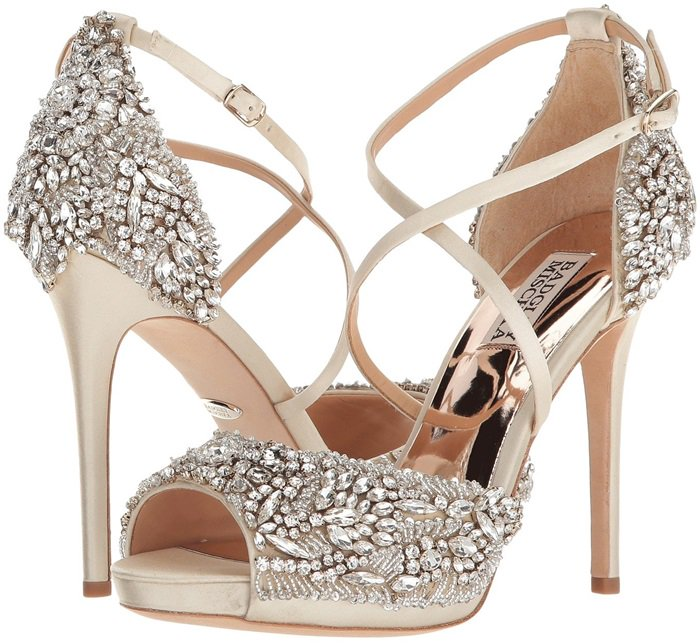 Hyper Crystal Embellished Sandals