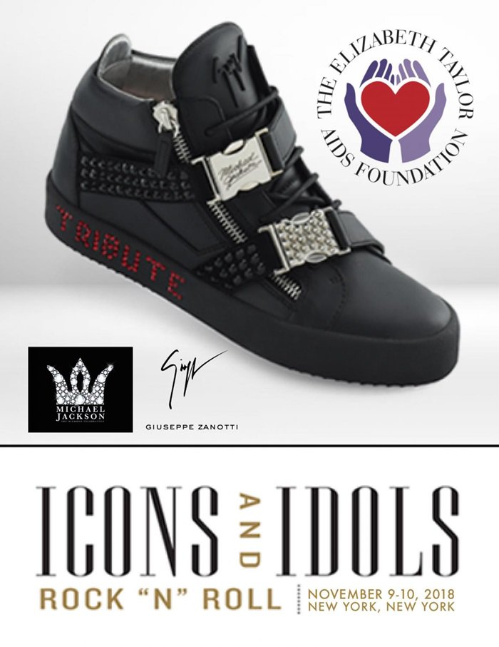 """ICONS & IDOLS: ROCK """"N"""" ROLL(#3208) 11/09/2018 10:00 AM EDT LOT 1 OF 1: GIUSEPPE TRIBUTE TO MICHAEL JACKSON PAIR NUMBER ONE"""