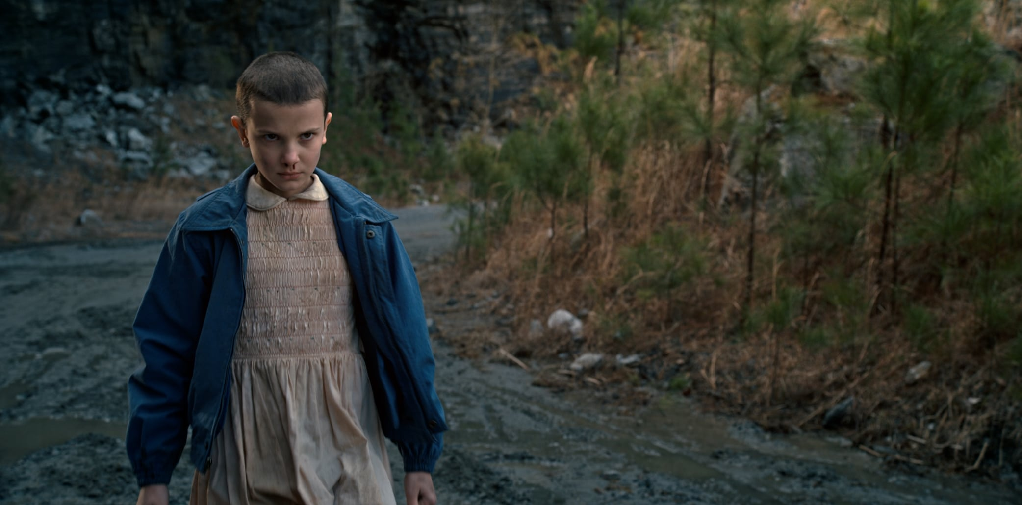 Millie Bobby Brown was 11 years old when filming the first season of Stranger Things in Atlanta, Georgia
