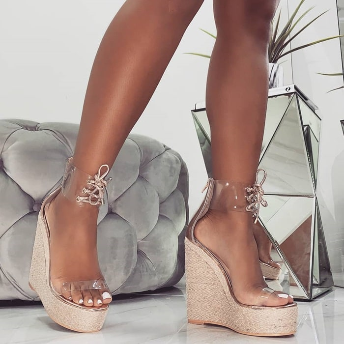 Monique Espadrille Wedges