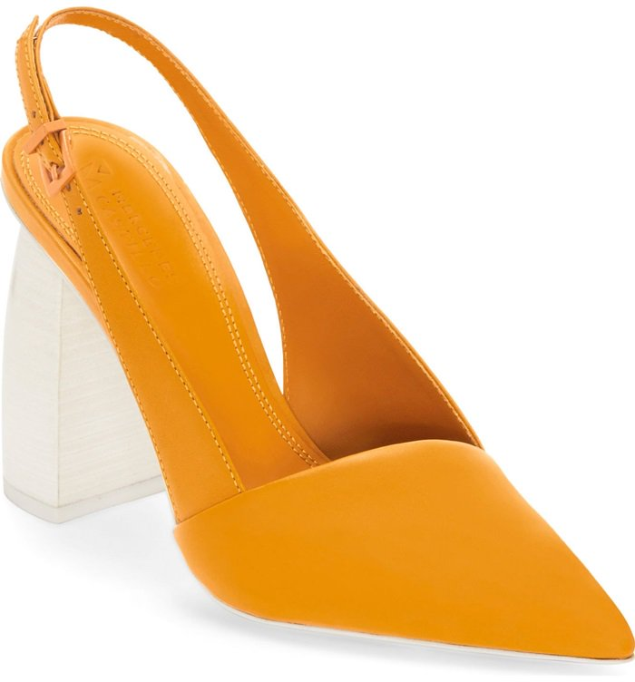 Mercedes Castillo Noni high slingback pumps
