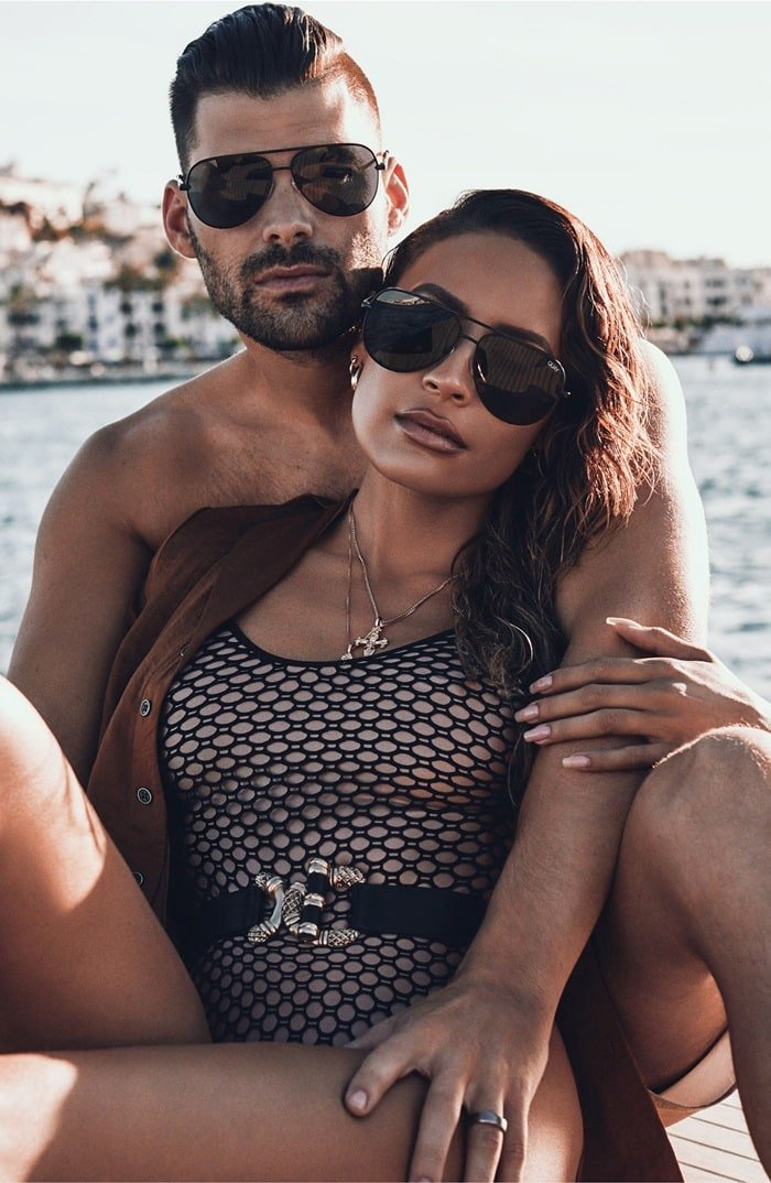 Tinted lenses exude an aura of mystery in this slightly smaller take on the coveted High Key sunglasses, for a chic look that flatters a wide range of face shapes