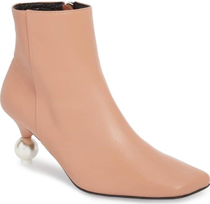 Ash Rose Yuul Yie Short Pearl Booties