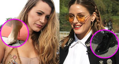 a9714445164dfa Blake Lively and Olivia Palermo Compete for Busiest Look at Dior Show