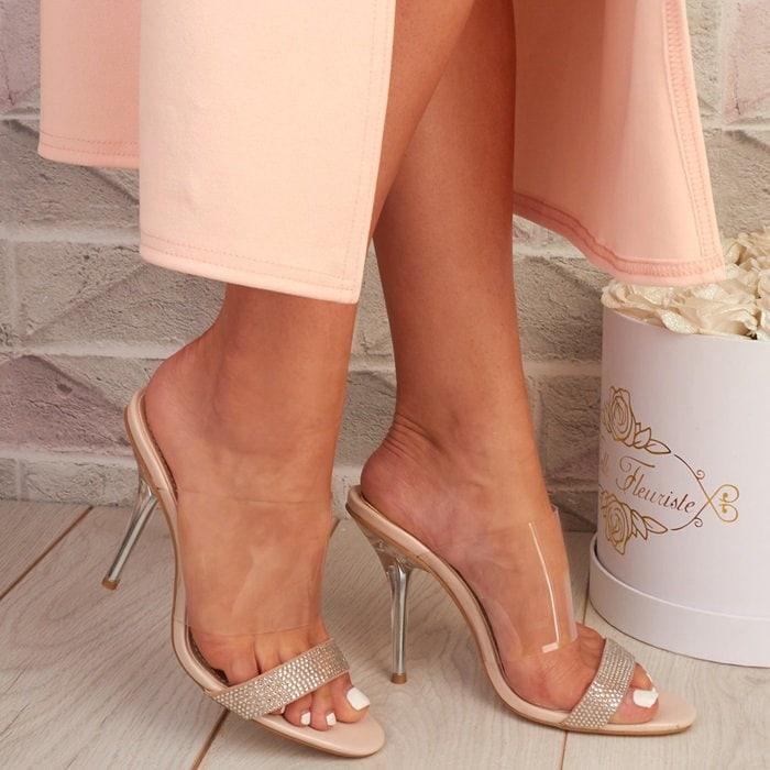BooPerspex Stiletto Heels