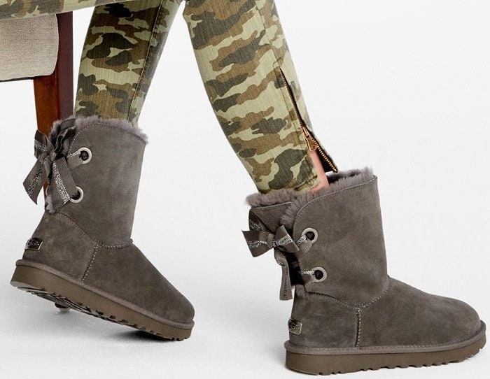 01f22860024 Create Your Own UGG Bailey Bow Short Boots in 5 Colors