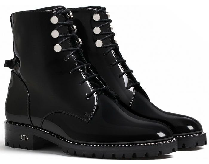 Christian Dior 'Rebelle' Boots