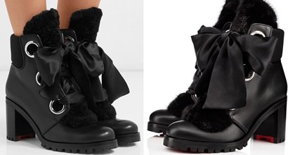 Streetwise Chic Jenny From The Alps Boots With Feminine Silk Ribbon 9010f87ad667