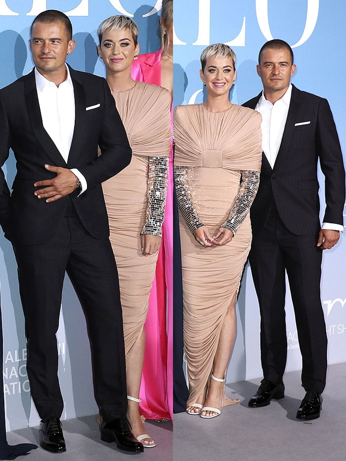 Katy Perry and Orlando Bloom at their red carpet debut as a couple
