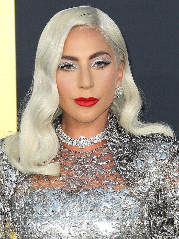 Lady Gaga Brings Back Crazy Platforms in Dramatic Givenchy ...