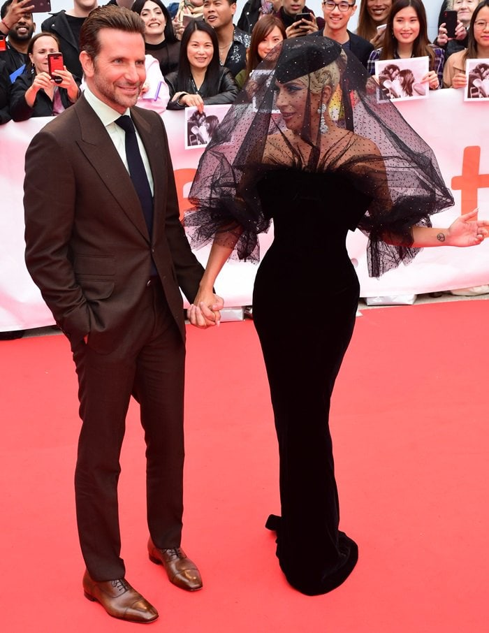 Lady Gaga and Bradley Cooper light up the red carpet at the premiere of A Star Is Born at the 2018 Toronto International Film Festival in Toronto, Canada, on September 9, 2018