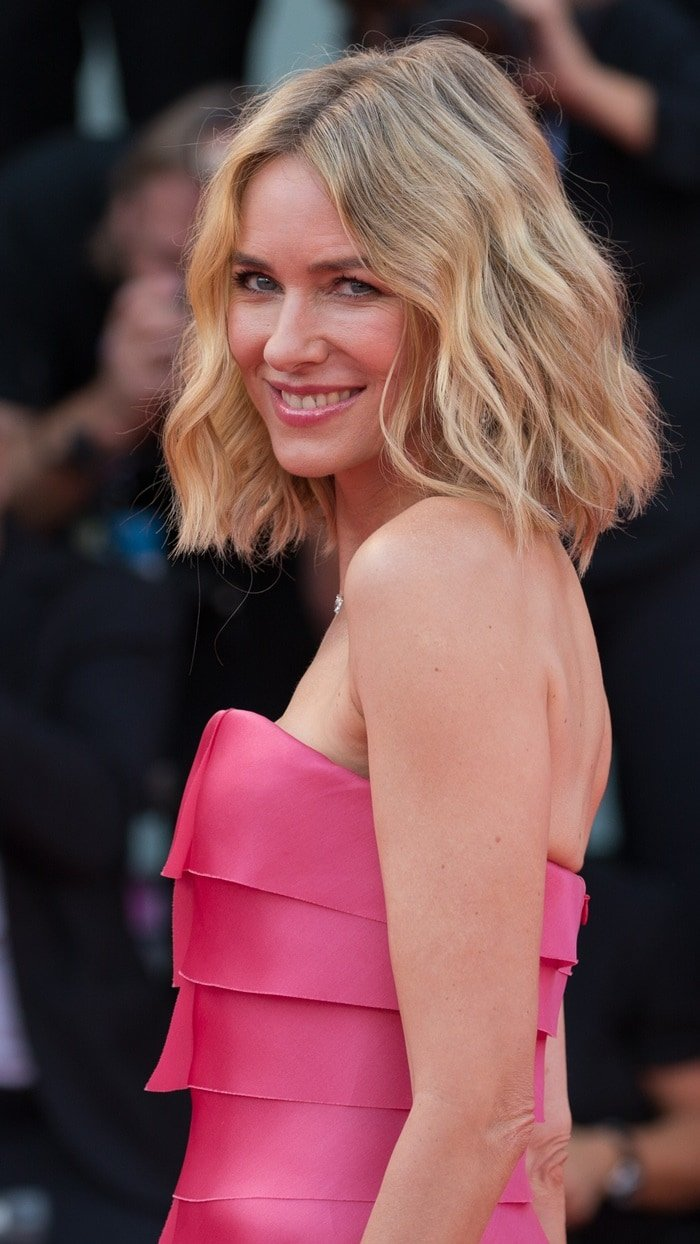 Naomi Watts attends the opening ceremony and the 'First Man' screening held during the 2018 Venice Film Festival at Sala Grande in Venice, Italy, on August 29, 2018