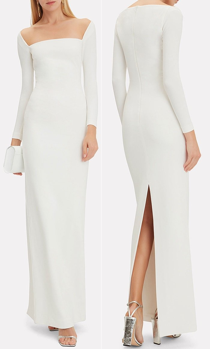 White Lolita maxi dress from Solace London