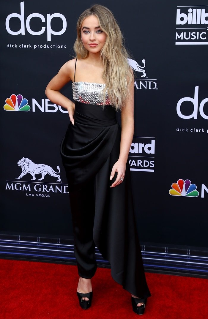 Sabrina Carpenter at the 2019 Billboard Music Awards held at the MGM Grand Garden Arena in Las Vegas on May 1, 2019