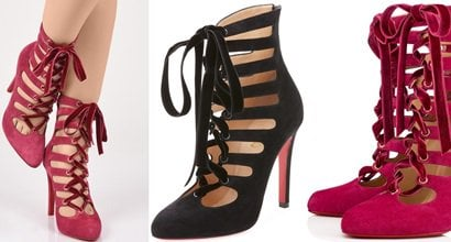 c353a5ad924 Spinetita Ankle Boots by Christian Louboutin Inspired by Loulou de la  Falaise
