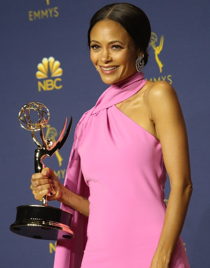 Thandie Newton won the Emmy for Outstanding Supporting Actress in a Drama Series