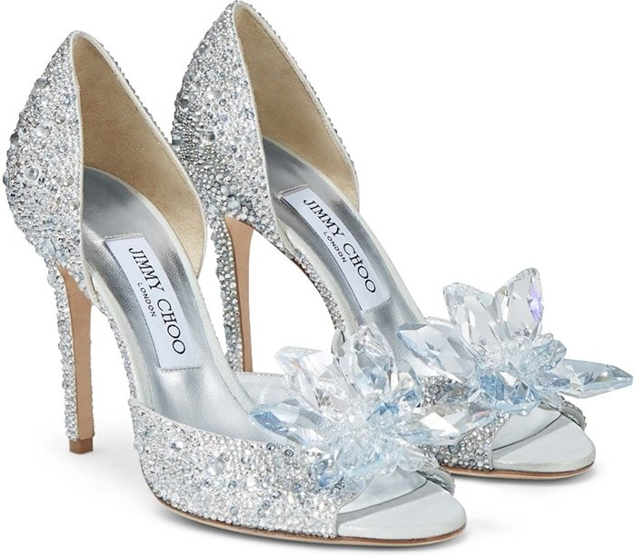 Swarovski crystals call for a special occasion, live your Cinderella moment and showcase these crystal heels at a high society dinner or to the party of the year