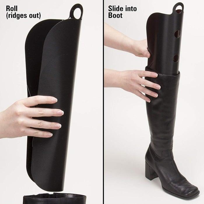 Boot Shaper Form Inserts Black