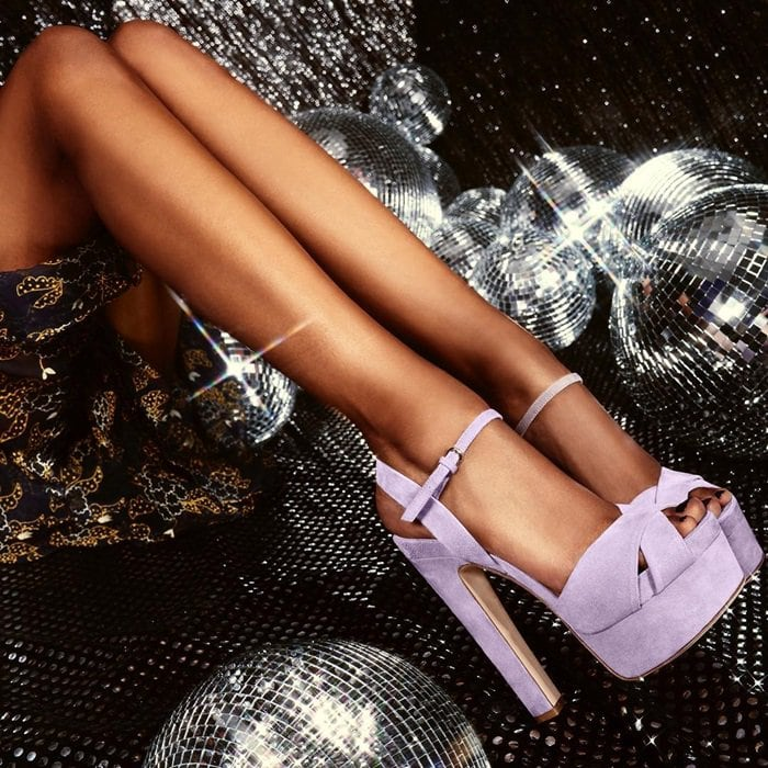 Nothing can lift your spirits like the Madison pumps from Brian Atwood featuringan ankle strap with adjustable buckle closure