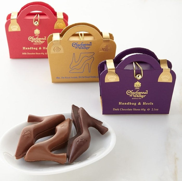 Stylish as well as tasty, this treat from one of Britain's oldest chocolatiers is a great gift for any lady who loves shoes
