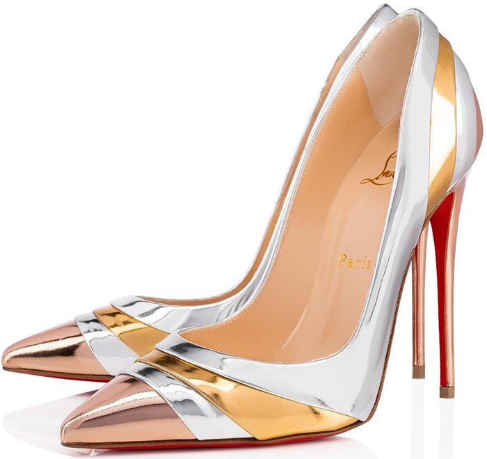 Show off your fun side with Christian Louboutin's Eklectica pumps