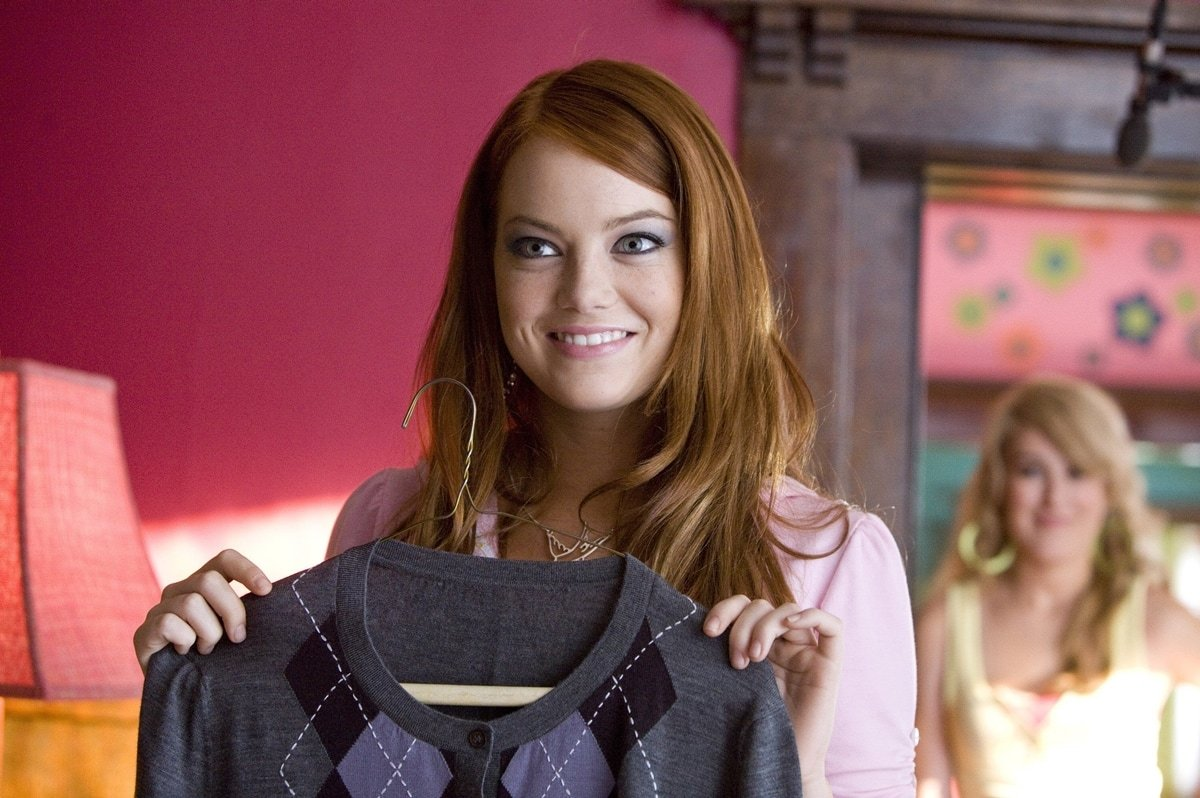 Emma Stone 18 years old when filming The House Bunny during the summer of 2007