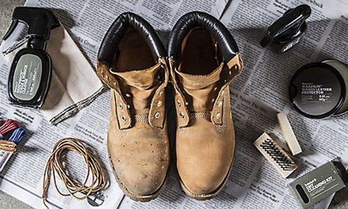 Cleaning your Timberland nubuck boots is easier than you think